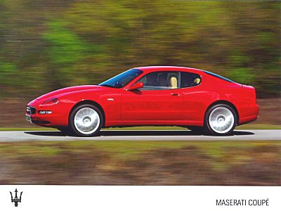 The Maserati Coupe is equipped